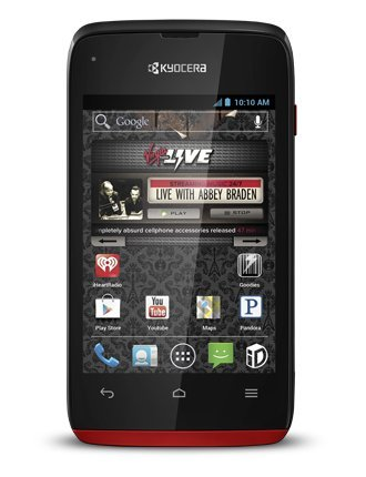 Kyocera Event Red / Prepaid Android Phone (Virgin Mobile) by Kyocera