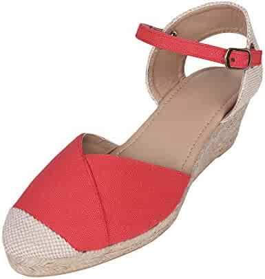 c8994e836b03b Shopping 3 Stars & Up - Red - Platforms & Wedges - Sandals - Shoes ...