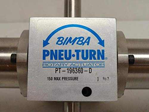 Bimba PT-196360-D Pneu-Turn, 1/2'' Double Rack, Dual Shaft