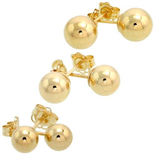 10k Earring Set - 8