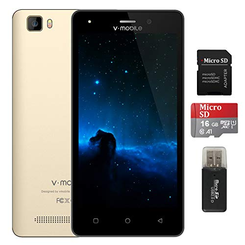 Unlocked Cell Phones, V Mobile A10 Dual Sim 4G Unlocked Smartphones with 5.0