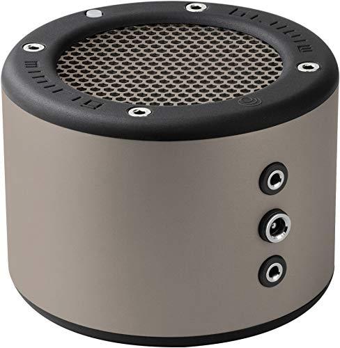 (MINIRIG 3 Portable Rechargeable Bluetooth Speaker - 100 Hour Battery - Loud Hi-Fi Sound - Silver/GRET)