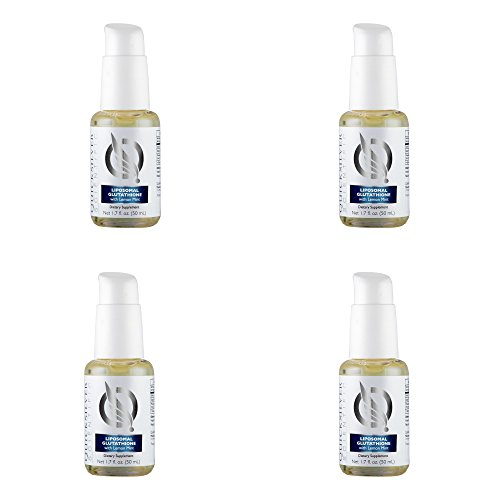 4 Pack Bundle Liposomal Glutathione Liquid 1.7oz by Quicksilver Scientific