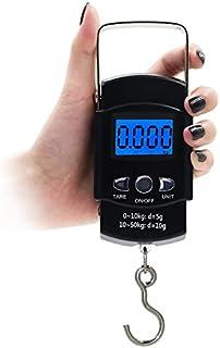 ZHANGYUGE Portable Digital Scale di Bagagli di Viaggio Elettronico Mini appesi Gli Strumenti di misurazione grammo Bilancia di precisione Pocket 50kg/50g