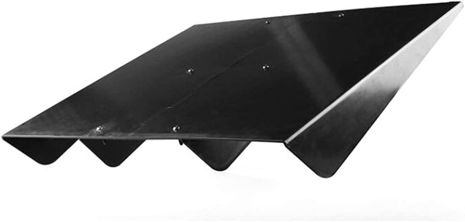 Floridivy Universal Auto Rear Bumper Lip Diffuser ABS Shark Fin Chassis Spoiler Car Refitted Accessories