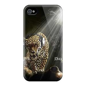 Fashion Tpu Case For Iphone 4/4s- Jaguar Defender Case Cover