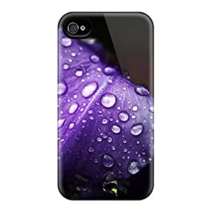 Fashion Protective Violet Hd Case Cover For Iphone 4/4s