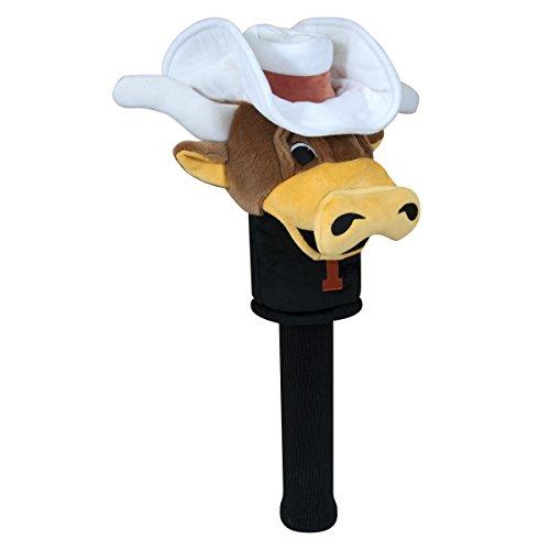 Team Effort Texas Longhorns Mascot Headcover - (College Mascot Golf Headcover)