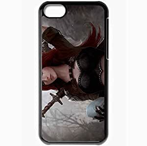 XiFu*MeiPersonalized iPhone 5C Cell phone Case/Cover Skin League Of Legends BlackXiFu*Mei