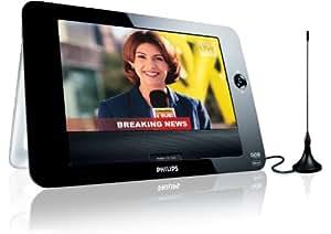 "Philips PD8015/12 DVD y televisor portátil USB con LCD de 21,3 cm (8,4"") (negro)"