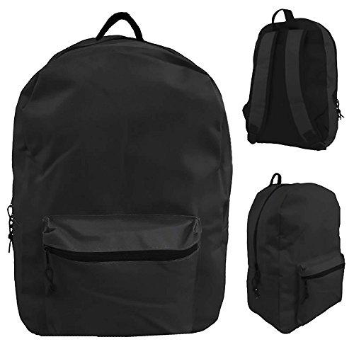 Classic Black Backpack 15