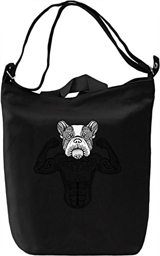 Ornamental dog Borsa Giornaliera Canvas Canvas Day Bag| 100% Premium Cotton Canvas| DTG Printing|