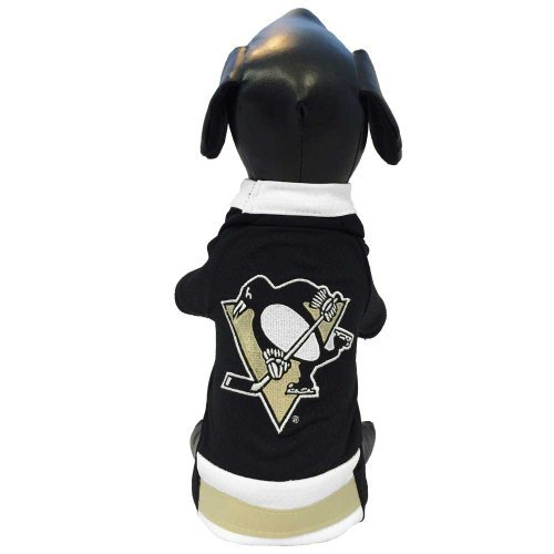All Star Dogs Pittsburgh Penguins Pet Mesh Sports Jersey, X-Large