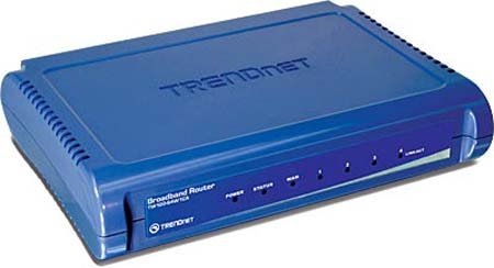 Trendnet-Four-10100mbps-HalfFull-Duplex-Switch-Ports-Wired-Ethernet-CableDsl-Router