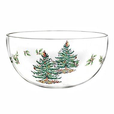 Spode Christmas Tree Glass Bowl