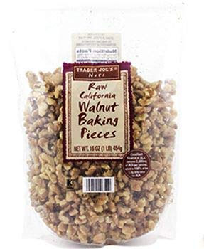 Trader Joe's Raw California Walnut Baking Pieces – 1 lb.
