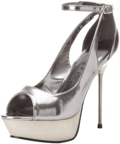 Ellie Shoes Womens Loren Loren Pewter