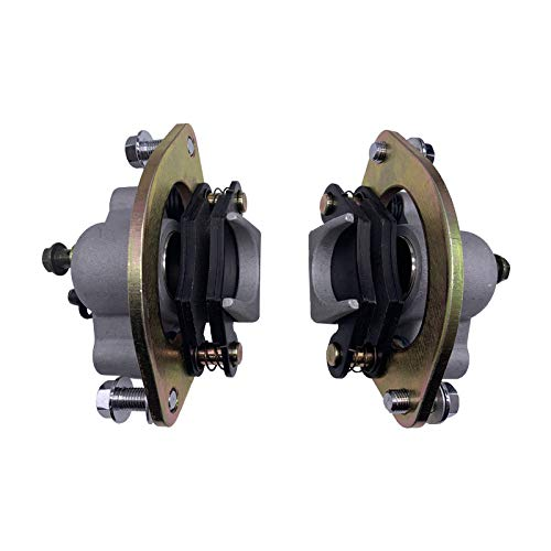 Zsoog Front Brake Caliper Right Left For Polaris Sportsman 850 XP X2 SCRAMBLER 850 Sportsman 550 XP EPS X2 Forest 10-14 With Pads