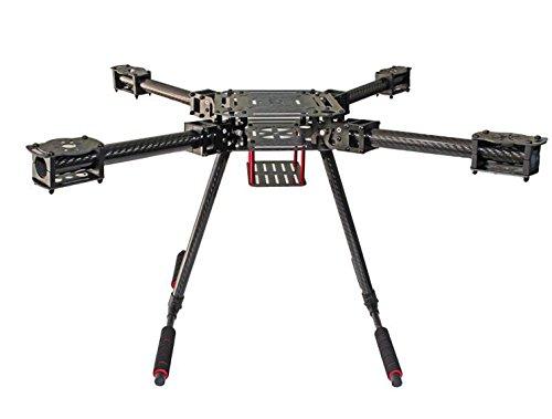 F550 ZD550 550mm Carbon fiber Drone Quadcopter Frame RC FPV Quad with Carbon Fiber Landing Skid 550 Mm Carbon Fiber