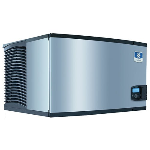 Air Cooled Medium Cube - Manitowoc ID-0302A Air Cooled 310 Lb Full Cube Ice Machine, NA, Stainless steel