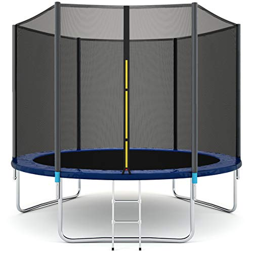 Giantex Trampoline Combo Bounce Jump Safety Enclosure Net...