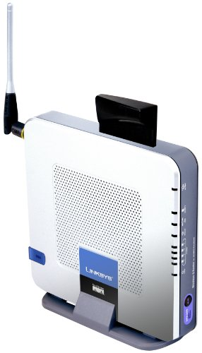 Linksys Wireless-G Router for ATT&T/Cingular 3G/UMTS Broadband WRT54G3G - Wireless router + 4-port switch - EN, Fast EN, 802.11b, 802.11g by Linksys