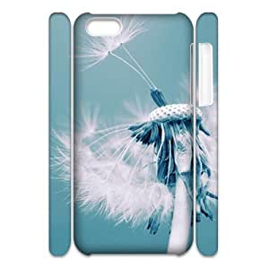 Dandelion Brand New 3D Cover Case for Iphone 5C,diy case cover ygtg516256 by icecream design