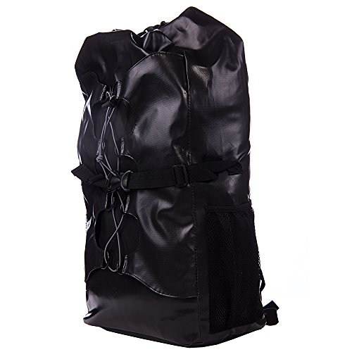 Waterproof Dry Bag - Perfect for Outdoor Adventures - Boating/ Kayaking/ Fishing/ Beach/ Swimming/ Camping/ Floating/ Rafting/Canoeing /Snowboarding ( Black) by OLIF