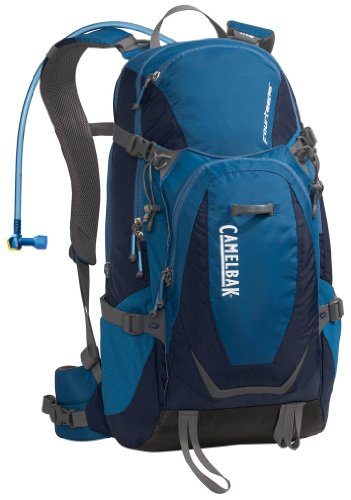 Camelbak Fourteener 100 oz Hydration Pack, Total Eclipse/Moroccan Blue