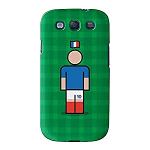 France 10p Full Wrap High Quality 3D Printed Case for Samsung? Galaxy S3 by Blunt Football International + FREE Crystal Clear Screen Protector