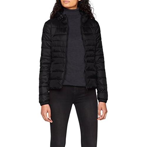 chollos oferta descuentos barato Only Onltahoe Hood Jacket Otw Noos Chaqueta Negro Black Black Large para Mujer