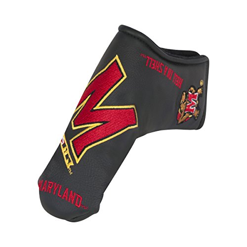 Team Effort Maryland Terrapins Black Blade Putter ()