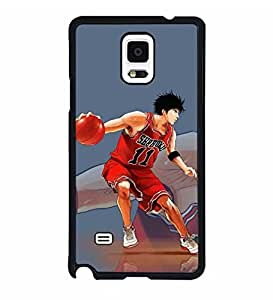 Samsung Galaxy Note 4 Case Animated Slam Dunk Anti Slip Ultra Thin Samsung Galaxy Note 4 Anti Dust Hard Cover