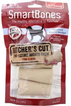 Dog Treats: SmartBones Butcher's Cut