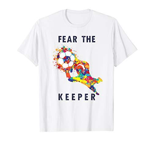 Goalkeeping Jersey Graphic (Soccer Goalie Goalkeeper Keeper Jersey T-Shirt I Fun Quote)
