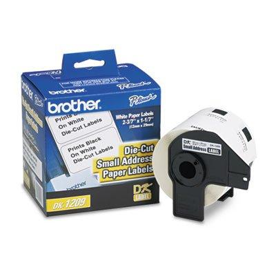 o Brother International Corp. o - Ret Addrs./Gen Use Lbl,F/QL500/QL550/QL650TD,1-1/2x2-1/2