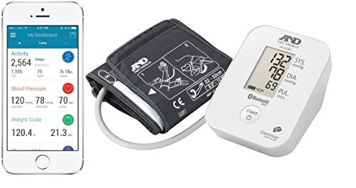 A&D Blutdruckmessgerät, medizinisch, Bluetooth Low Energy (BLE)