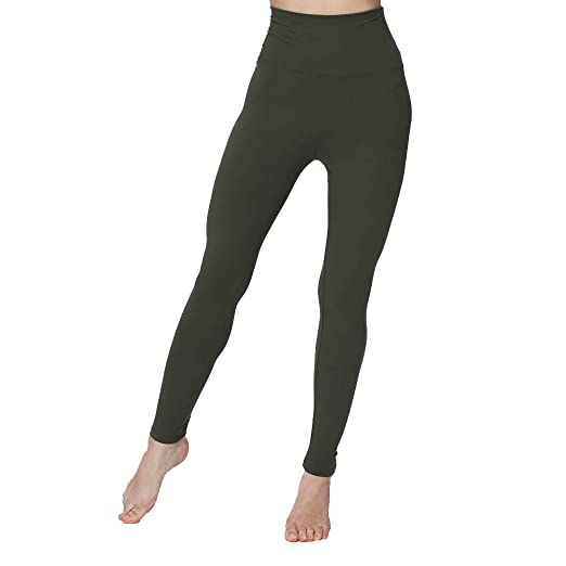 6fc7885944a3ec Plus Size High Waisted Leggings Super Soft Slim Stretchy Classic Leggings  Sport Yoga Skinny Pants for