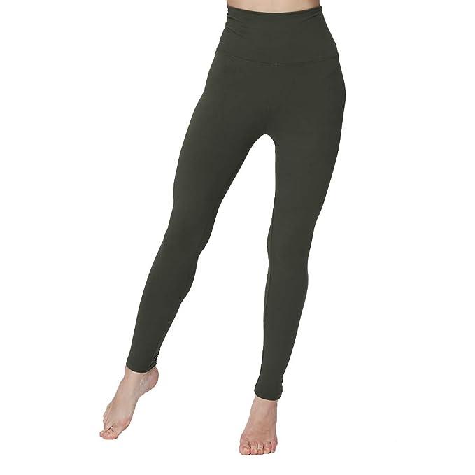 Amazon.com: Leggings de cintura alta, tamaño grande, muy ...