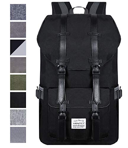 409dccfb4c7f9 VENTCY College Backpack Men Women 15.6 Inch Laptop Backpack Casual Daypack  Bag High School Waterproof Rucksack