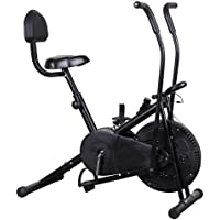 Body Maxx Benson Air Bike with Back Support