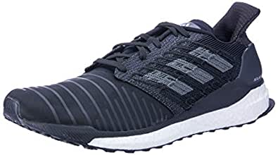 adidas Men's Solar Boost Running Shoes, Core Black/Grey/Footwear White, 6.5 US