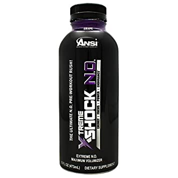 ANSI Xtreme Shock N.o. Grape, 16 Ounce, 12 Count
