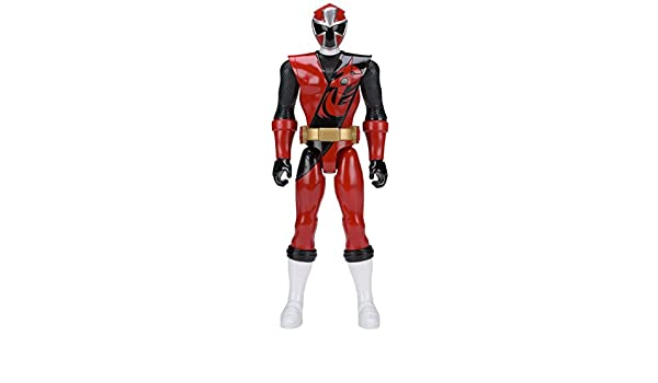 Power Rangers Super Ninja Steel 12-Inch Action Figure, Red ...