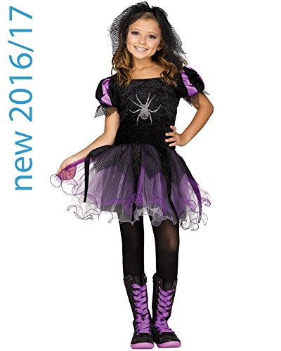 Spider Queen Child Costume (Medium) - Child Spider Queen Costume