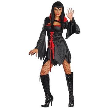 Gräfin Vampira Sexy Horror Halloween Party Verkleidung für Frauen ...