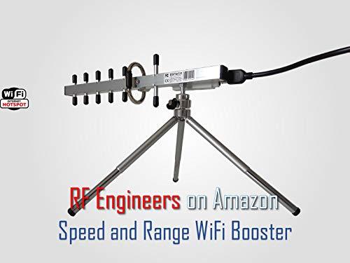 TurboTenna NextG USB-Yagi Plug & Play 11N Long Range WiFi antenna 2200mW (Best Long Range Usb Wifi Antenna)