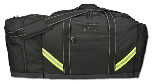 Black Bunker Gear Bag - 1