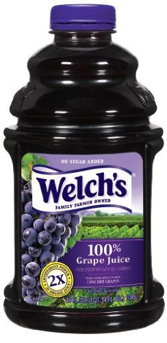 Welch's 100% Purple Grape Juice - 46 oz - 2 pk