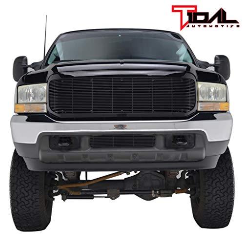 Tidal fits 99-04 Ford Super Duty Black Aluninum Billet Grille W/Shell